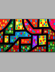 geometrische Abbildung Ölgemälde Design handgemachtes Ölgemälde 2016 neue Design-