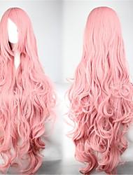 Doce 90CM Longas / Extra Longo Rosa Lolita peruca