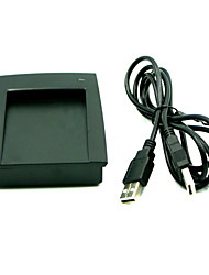15 estilo leitor leitor de formato de saída 125KHz em ID USB RFID 4 byte decimal 8h10d usb cartão de desktop nenhum driver