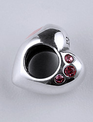 Sterling Silver Bead S925 Bracelet Necklace Bead  for European Charm Silver Bracelets