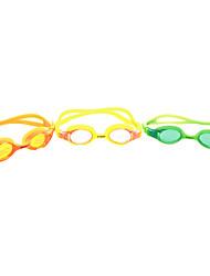 SUPER-K Óculos de Natação Crianças Anti-Nevoeiro / Á Prova-de-Água / Tamanho Ajustável Gel Silica PC Amarelo / Vermelho / Azul / Roxo