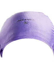 MESUCA® Solid Color Lycra Swimming Cap for Adult