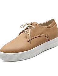 Scarpe Donna - Sneakers alla moda - Tempo libero / Formale / Casual - Plateau / A punta - Plateau - Finta pelle -Blu / Giallo / Rosso /