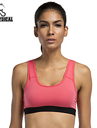 Vansydical Women's Quick Dry Yoga Tops Green / Red / Black