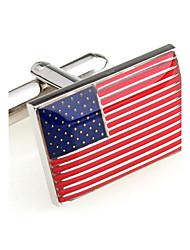 The United States of America Stars and Stripes American flag cufflinks French shirt cuff nail