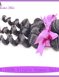 3pcs muita extensão de cabelo barato peruano onda solta naturais cabelo humano de alta qualidade grau 7a preto virgem