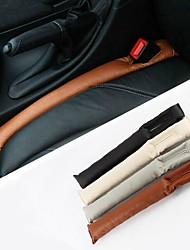 ziqiao PU-Leder Fahrzeugsitz-Steckplatz Stecker dicht Schutzhülle (2 Stück)