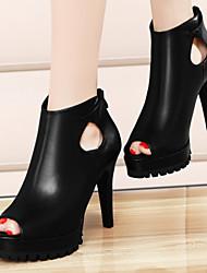 Zapatos de mujer - Tacón Stiletto - Tacones / Punta Abierta - Sandalias - Oficina y Trabajo / Vestido / Casual / Fiesta y Noche -