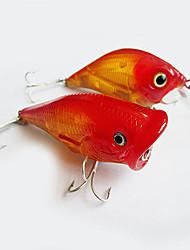 """2pcs pcs Popper Rouge 10g g/1/3 Once,75mm mm/3"""" pouce,Plastique dur Pêche au leurre"""