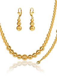 Collar / Pendiente / Brazalete ( Baño en Oro )- Vintage / Bonito / Fiesta / Trabajo / Casual para Unisex