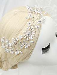 Rhinestone Crystal Alloy Headpiece-Wedding Special Occasion Headbands 1 Piece