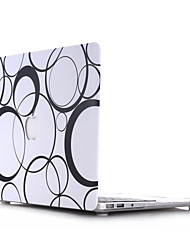 Circle Style PC Materials Hollow Out Hard Cover Case For MacBook