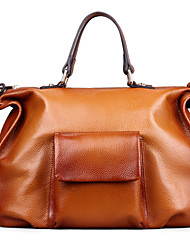 Handcee® Embossed First Layer Of Leather Handbags / Shoulder Bag