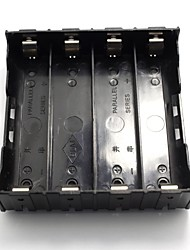 Batteries Clip Case Holder Box for 4 x 18650 Lithium-ion Battery