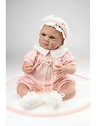 npkdoll rinato baby doll morbido silicone 20inch 50 centimetri magnetico bel vestito realistica ragazzo carino ragazza rosa giocattolo