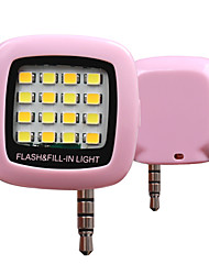 RK05 Cold and Warm Lighting Phone Sync Flash(Assorted Color)