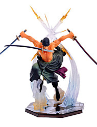 One Piece Roronoa Zoro PVC Figures Anime Action Jouets modèle Doll Toy
