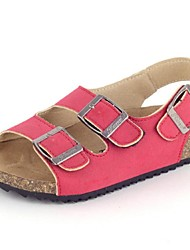 Girls' Shoes Outdoor / Casual Comfort / Open Toe  Sandals Multi-color