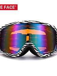 niceface unisex gafas de esquí del esquí de gafas anteojos gafas de snowboard mujeres de los hombres gafas de esquí de nieve googles nf142