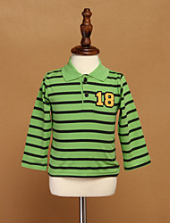 Boy's Cotton Shirt,Winter Striped