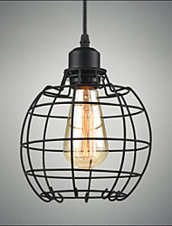 E27 Edison Pendant Light Lamp Chandelier Wire Cage Hanging Ceiling Lampshade