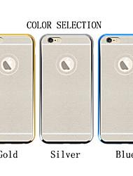 diamant éclair poudre téléphone mobile shell galvanoplastie coquille de téléphone mobile pour iPhone6 6s / iphone (couleurs assorties)