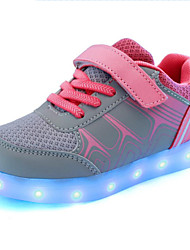Kid Boy Girl Upgraded USB Charging LED Light Sport Shoes Flashing Sneakers USB Charge