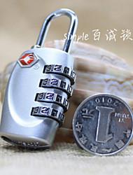 Lucchetto per valigiaForAccessori per valigia Acciaio inossidabile 2.5 x 6.1 x 2cm