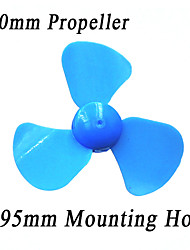 60mm Three-blade Propeller,Plastic Toys Accessories,Technology Making DIY Windmill Model