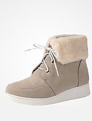 Winter beauty cashmere short boots plus velvet boots snow boots women cotton big yards
