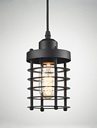 Retro Ceiling lamp Industrial Iron Vintage Chandelier Kitchen Shop Pendant Light
