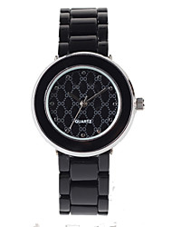 Fashion Black Alloy Suit Ladies Fashion Watch