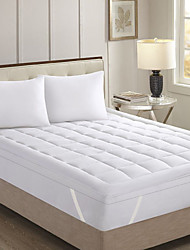 Reversible Foldable Anti-Skid Prevents Smudges Anti Mite Mattress Topper with a Warm Super-Soft Microplush