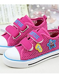 Baby Shoes - Casual - Sneakers alla moda - Tulle - Rosa / Pesca