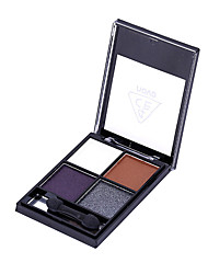 4 Eyeshadow Palette Dry / Matte / Mineral Eyeshadow palette Powder Normal Daily Makeup / Halloween Makeup / Party Makeup