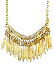Necklace Statement Necklaces Jewelry Alloy Party / Daily Gold 1pc Gift
