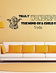 Black Vinyl Quotes Decals Removable Wall Sticker Kids Room Home Decor Art Stickers