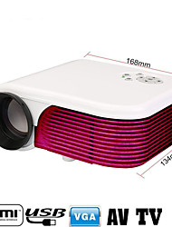 1080P Multimedia LED Projector Home Cinema Theater HD PC AV/VGA/USB/HDMI/TV