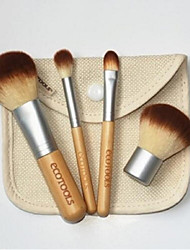 4 Blush Brush / Eyeshadow Brush / Concealer Brush / Foundation Brush Others Professional / Limits bacteria
