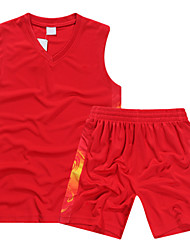 Sleeveless Sublimation Printing Basketball Jerseys&Basketball Sets