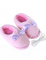 Bowknot Style USB Plush + Cloth Warm Shoes