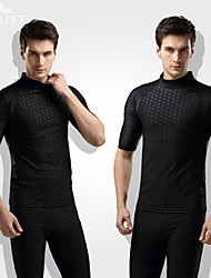 Men's Wetsuits Dive Skins Wetsuit Top Waterproof Thermal / Warm Ultraviolet Resistant Softness Elastane Chinlon LYCRA® Diving SuitShort