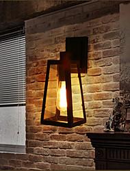 Lâmpadas de Parede LED Rústico/Campestre Metal