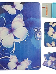 Dream Butterfly Coloured Drawing or Pattern PU Leather Folio Case Tablet Holster for iPad Mini 3/2/1