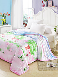 Happy Childhood High-end Air Conditioning Quilt  100% Tencel Air Conditioning Quilt  Summer Cool Quilt Full/Queen
