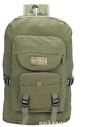 Unisex Canvas Bucket Backpack - Green