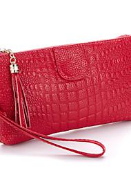 Minaudière / Sac de soirée / Porte-Monnaie / Mini Sac de Poignet / Mobile Bag Phone - Violet / Rouge / Noir / Bourgogne - Coquillage -