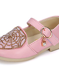 Baby Shoes Wedding / Outdoor / Dress / Casual Glitter / Leatherette Fashion Sneakers Blue / Pink / Beige