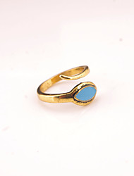 Alloy Ring Statement Rings Party / Daily / Casual 1pc