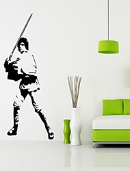 Luke Star Wars Large Wall Sticker Cabinet Paster Art Home Decor Dining Living room Bedroom Waterproof stickers